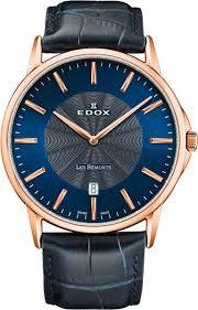 Наручные <b>часы Edox 56001</b>-<b>37RBUIR</b> — купить в интернет ...