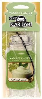 Yankee Candle Car Jar Vanilla Lime - Ароматизатор для ...