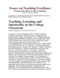 essay teachingessays on teaching publications and presentations   center for teaching   vanderbilt