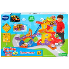 «Игровой набор <b>VTech</b> Бип-Бип <b>Toot</b>-<b>Toot Drivers</b>» — Детские ...