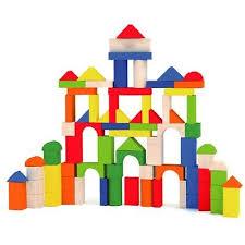 <b>80 Pcs</b> Solid Building Blocks Children's <b>Wood Toys Pieces</b> Xmas ...