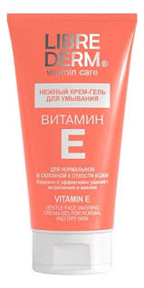 <b>Нежный крем</b>-гель для <b>умывания</b> Витамин Е Vitamin Care Gentle ...