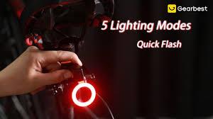 <b>Utorch USB</b> Charging Creative Taillight - Gearbest.com