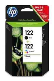 Комплект <b>картриджей HP</b> 122 Black + 122 Tri-colour <b>CR340HE</b>