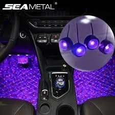 Ambient <b>Lamp Auto</b> Bulb <b>LED Light</b> Usb Atmosphere <b>Car</b> Interior ...