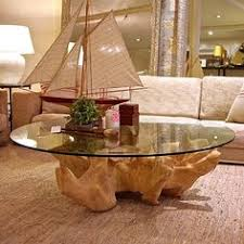 tree trunk table this could be cool with my glass i have already awesome tree trunk coffee table