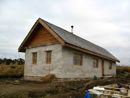 straw bale house   Home Across The WaterStraw Bale House
