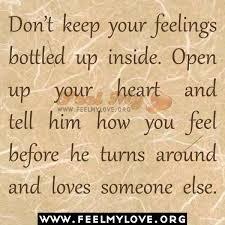 Quotes About Keeping Emotions Inside. QuotesGram via Relatably.com