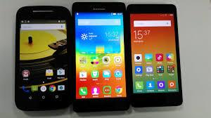 Micromax Yu Yuphoria vs Xiaomi Redmi 2 vs Lenovo A6000 vs ...