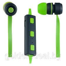 Наушники-<b>гарнитура PERFEO SOUND STRIP</b> зеленые/черные ...