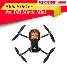 <b>STARTRC</b> Mini Waterproof Skin Protective <b>PVC</b> Stickers Drone ...