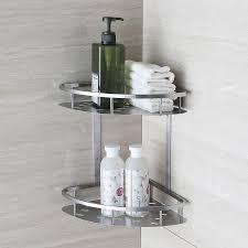 bathroom accessories shelves