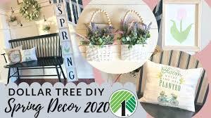 <b>NEW</b> Dollar Tree <b>DIY</b> Spring Decor <b>2020</b> - YouTube