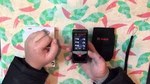 Лазерный <b>дальномер Bosch PLR 50</b> C. Распаковка и обзор ...