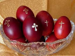 veľkonočné vajíčka z Grécka