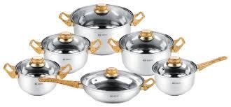 <b>Набор посуды</b> Rainstahl 1230-<b>12RS</b>/CW <b>12</b> пр. — купить по ...