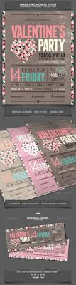 17 best ideas about holiday invitations holiday valentine s day party event flyer template 5
