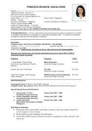 resumes formats over 10000 cv and resume samples cv format temporary summer resume for teachers s teacher most recent resume template most recent resume