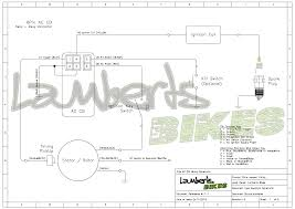 ac input cdi lamberts bikes 6 pin cdi wiring diagram