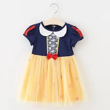 Baby <b>Girl</b> Dresses <b>2019</b> Summer Snow White <b>Princess Tutu</b> Dress ...