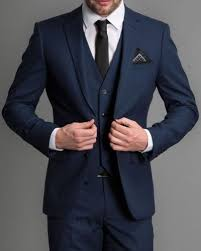 <b>Custom Made 3 Piece</b> Suits Mens Wedding Suits Groom Tuxedos ...