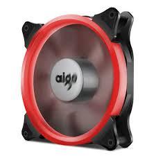 <b>1pcs</b> Aigo <b>Red</b> Halo LED 140mm PC CPU Computer Case Cooler ...
