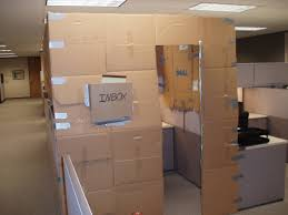 seriously i kind of want this to be my cubicle cardboard office