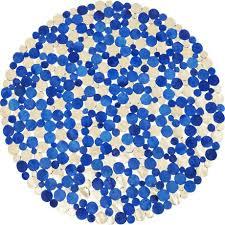 <b>Ковер Circles</b> синего цвета — купить по цене 48110 руб в Москве ...
