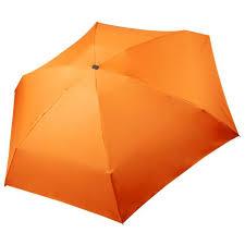 <b>Зонт Unit Five</b>, оранжевый под нанесение логотипа