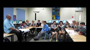 passionate about working young people cowra guardian mr len kanowski talks st raphael s senior students about what works for young people in