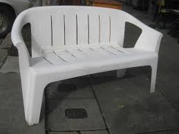 white resin outdoor chairs