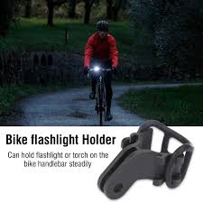 <b>Bicycle Light</b> Torch Holder Flashlight <b>Bracket bike</b> accessories for ...