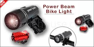 WATERPROOF BRIGHT <b>5 LED BIKE BICYCLE</b> CYCLE <b>FRONT</b> ...