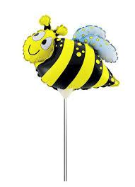 <b>Action</b>! <b>Шар фольгированный</b> на палочке Пчела — купить в ...
