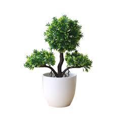 「 Bakilili」_Guest-Greeting Pine <b>Simulated Potted Plant Fake</b> Bonsai ...