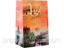 <b>Пакет подарочный</b> малый Почтовая марка Германия <b>23*15</b> см ...