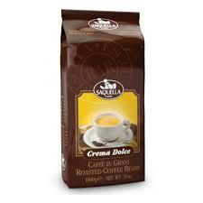 <b>Кофе</b> в <b>зернах SAQUELLA</b> Crema Dolce 1 кг — купить в интернет ...