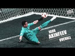 Russia: Gold-keeper! <b>Akinfeev's</b> penalty save immortalised in gold ...