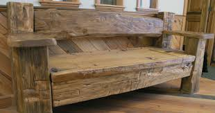 woods benches and wood furniture on pinterest barn wood furniture diy