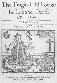 best images about doctor faustus college of title page of a late edition of christopher marlowe s doctor faustus 1620