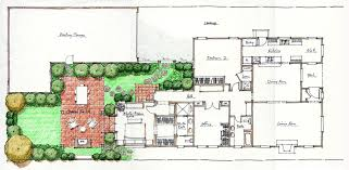 Whole House Remodel in Phases   Tips to Build Your Dream Home    Hand Rendering Schematic edited  Remodeling Master Plan Schematic   California Heights Spanish Colonial Revival
