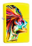 <b>Зажигалка Zippo Classic</b> с <b>покрытием</b> Neon Yellow, латунь/сталь ...