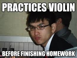 takes exam with a number 3 pencil - Rebellious Asian - quickmeme via Relatably.com