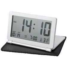 Travel Desk Calendar LCD Display <b>Folding Home</b> Digital Silent Flip ...
