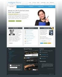 top 25 advertising and marketing website templates intelligible business marketing website template
