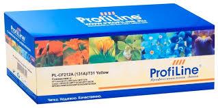 <b>Картридж ProfiLine PL</b>-<b>CF212A</b>/731-Y — купить по выгодной цене ...