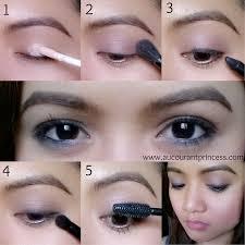easy everyday eye makeup simple everyday makeup tutorial aucourantprincess