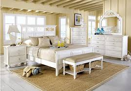 bedroom sets picture ideas picture of cindy crawford home seaside white  pc queen panel bedroom f