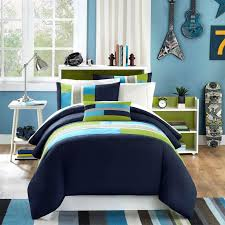 lime green pink bedding marvelous blue  cool teenage bedroom with stripe blue green comforter and stainl