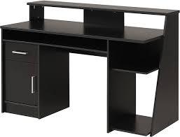 black wood corner computer desk overstock black computer desks